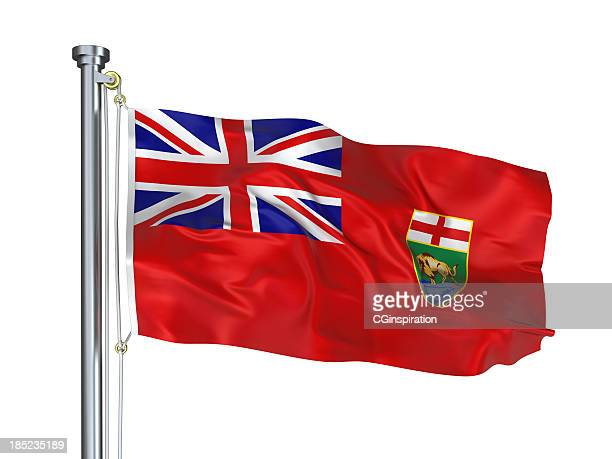 manitoba flag - manitoba stock pictures, royalty-free photos & images