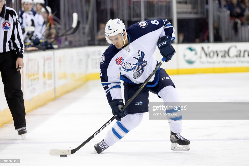AHL: FEB 10 Manitoba Moose at Cleveland Monsters : News Photo