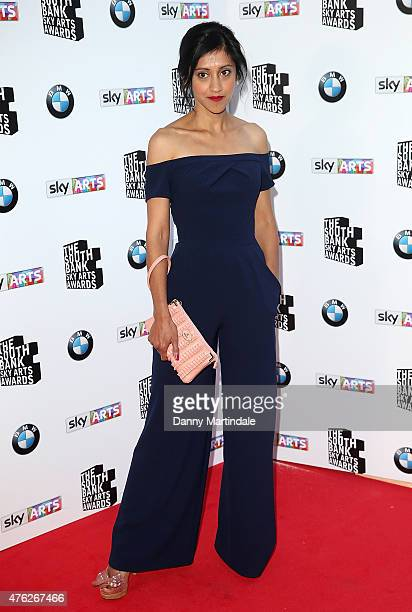 Manjinder Virk attend the South Bank Sky Arts Awards at The Savoy Hotel on June 7 2015 in London England