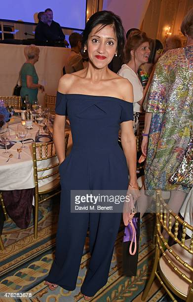 Manjinder Virk attends an after party following the South Bank Sky Arts awards at The Savoy Hotel on June 7 2015 in London England