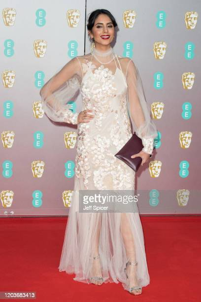 Manjinder Virk attends the EE British Academy Film Awards 2020 at Royal Albert Hall on February 02 2020 in London England