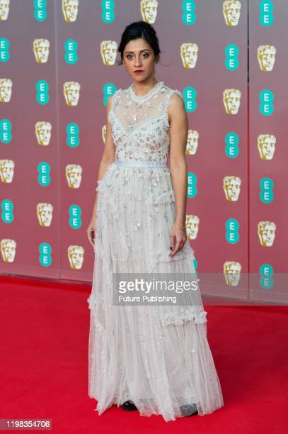 Manjinder Virk attends the EE British Academy Film Awards ceremony at the Royal Albert Hall on 02 February 2020 in London England PHOTOGRAPH BY...