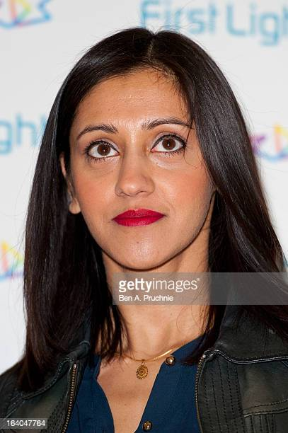 Manjinder Virk attends the First Light Award at Odeon Leicester Square on March 19 2013 in London England