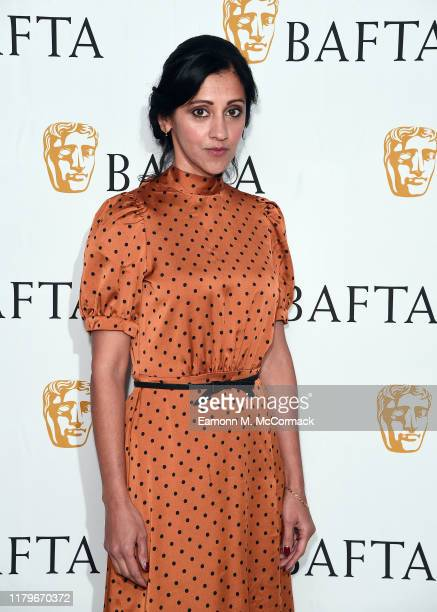 Manjinder Virk attends the launch of the BAFTA Elevate Actors initiative at BAFTA on October 07 2019 in London England