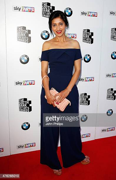 Manjinder Virk attends the South Bank Sky Arts Awards at The Savoy Hotel on June 7 2015 in London England