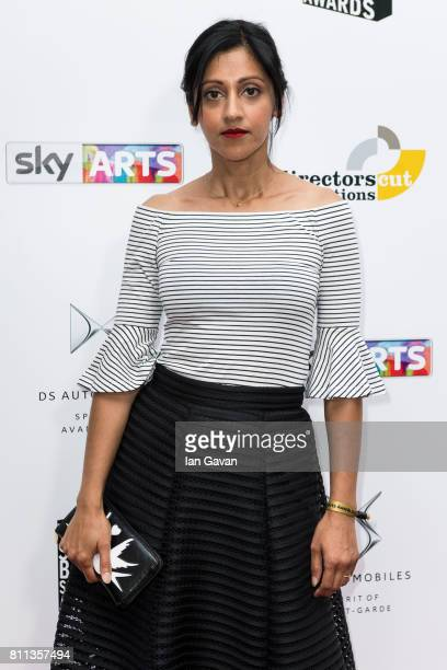 Manjinder Virk attends The Southbank Sky Arts Awards 2017 at The Savoy Hotel on July 9 2017 in London England