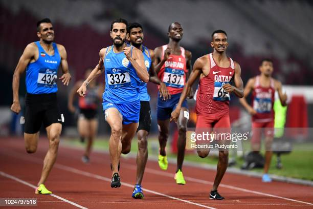 Manjit Singh of India competes during Men's 800m Final on day ten of the Asian Games on August 28 2018 in Jakarta Indonesia