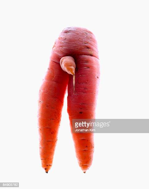 manly carrot  - penis stock pictures, royalty-free photos & images