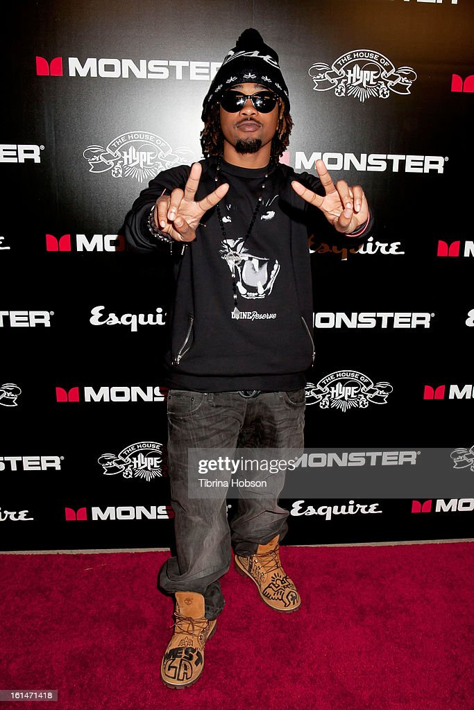 Mann attends the 'House of Hype' Monster Grammy party at SLS Hotel on February 10, 2013 in Los Angeles, California.