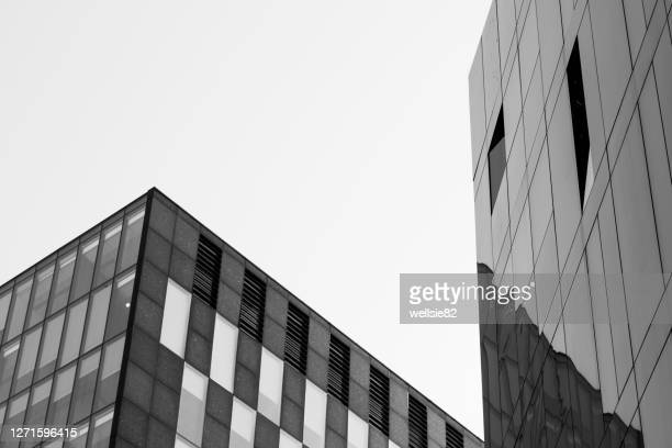 mann island in monochrome - architecture stock pictures, royalty-free photos & images