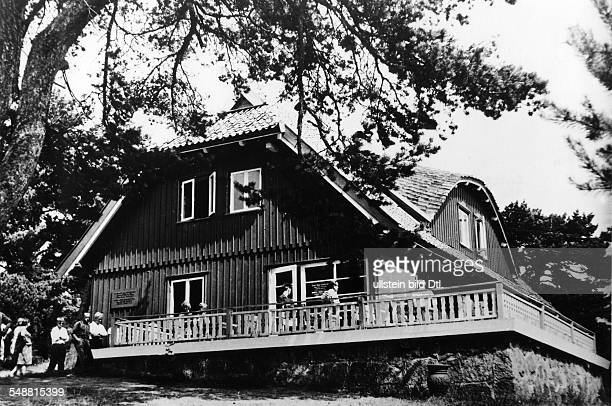 Mann Thomas Writer D *06061875 Nobel Prize laureate 1929 view of Thomas Mann's summer house in Nida Lithuania today the Thomas Mann artcenter opened...