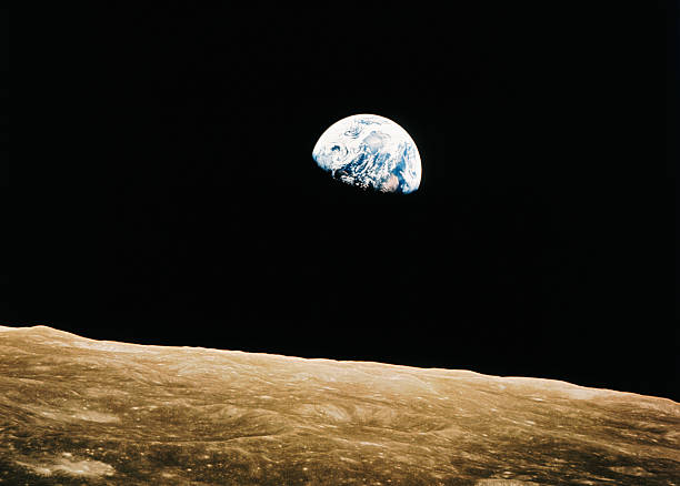 View of the Earth Rising