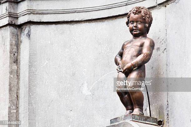 Manneken Pis Brussels Horizontal with copy space