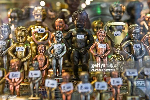 Manneken Pis statue souvenirs