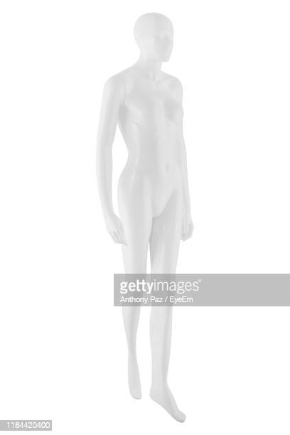 mannequin against white background - mannequin stock pictures, royalty-free photos & images