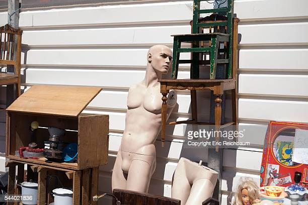 Mannequin and Junk in Lisbon Flea Market