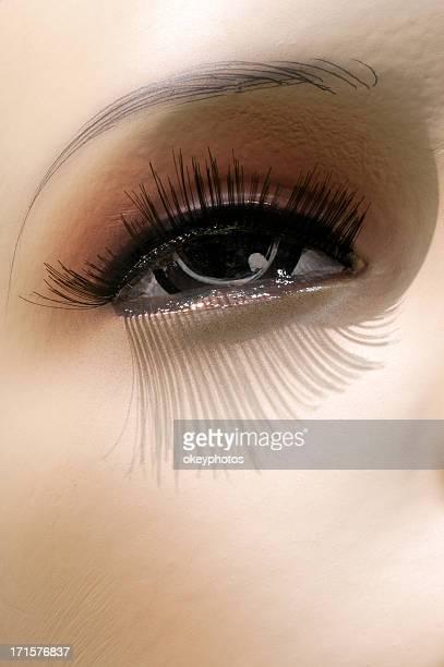 マネキンの目