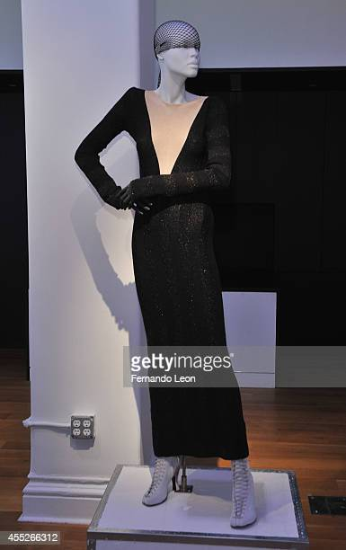 A mannequin featuring clothes from the Zaldy collection photographed during the Zaldy presentation at Zaldy Studio on September 11 2014 in New York...