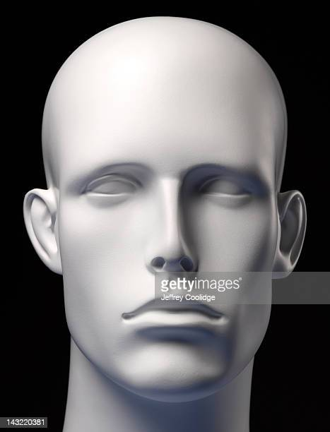 Mannequin Head Black