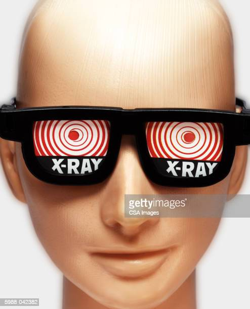 Mannequin in X-ray Glasses