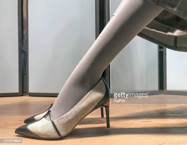 Feet in nylons