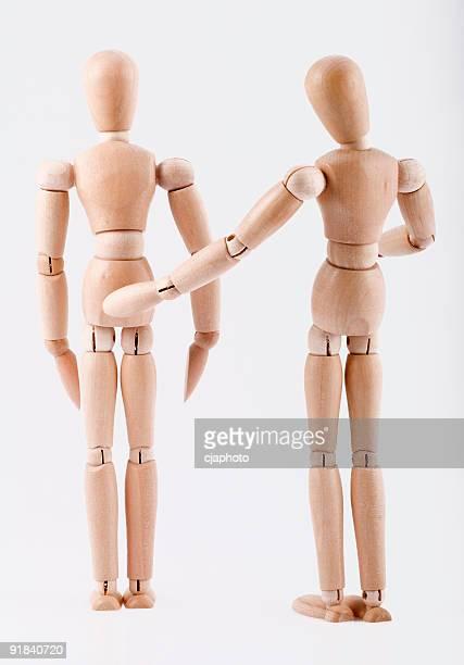 mannequin - ongewenste intimiteit stockfoto's en -beelden