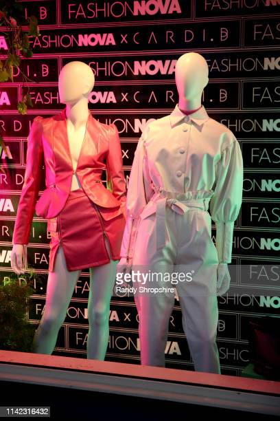 Mannequins are seen as Fashion Nova Presents Party With Cardi at Hollywood Palladium on May 8 2019 in Los Angeles California