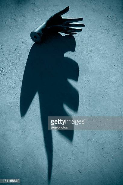 Mannequin's hand and shadows