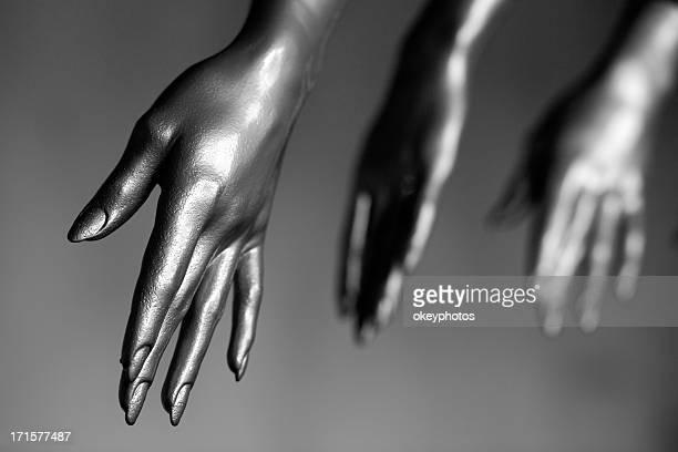 Mannequin's hands.