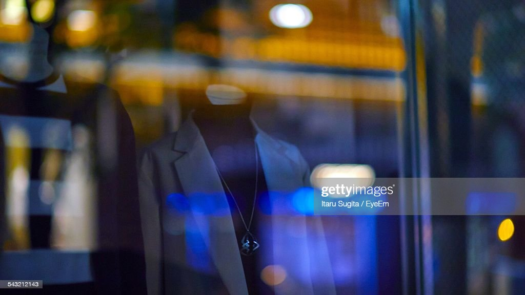 Mannequins In Clothing Store : Stock Photo