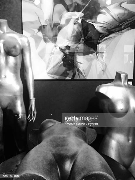 Mannequins In Room