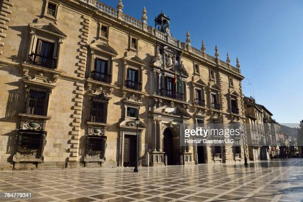 Mannerist facade of the Royal Chancery of Granada now Superior Court of Andalusia