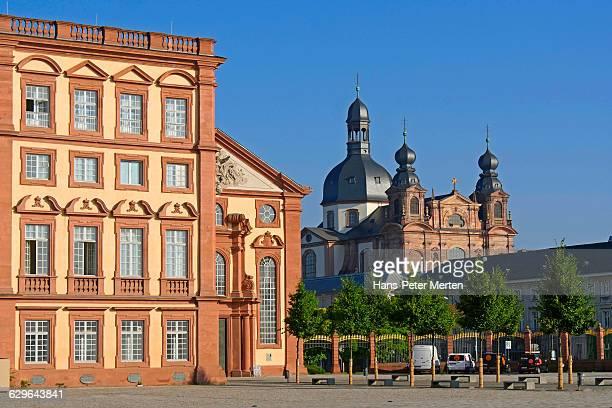 Mannheim Palace and Jesuit Church