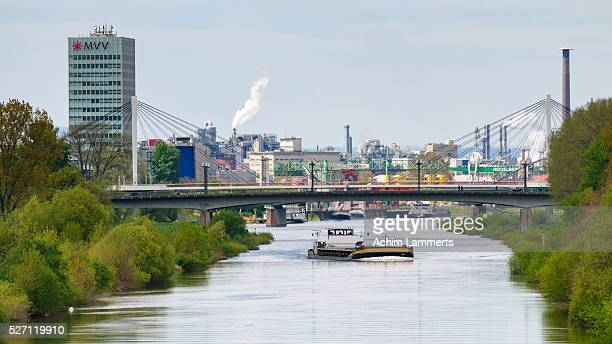 mannheim - skyline - achim lammerts stock pictures, royalty-free photos & images