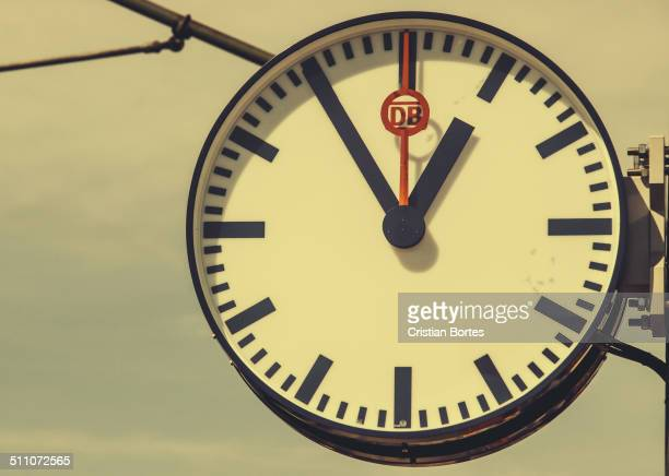 Mannheim train station clock