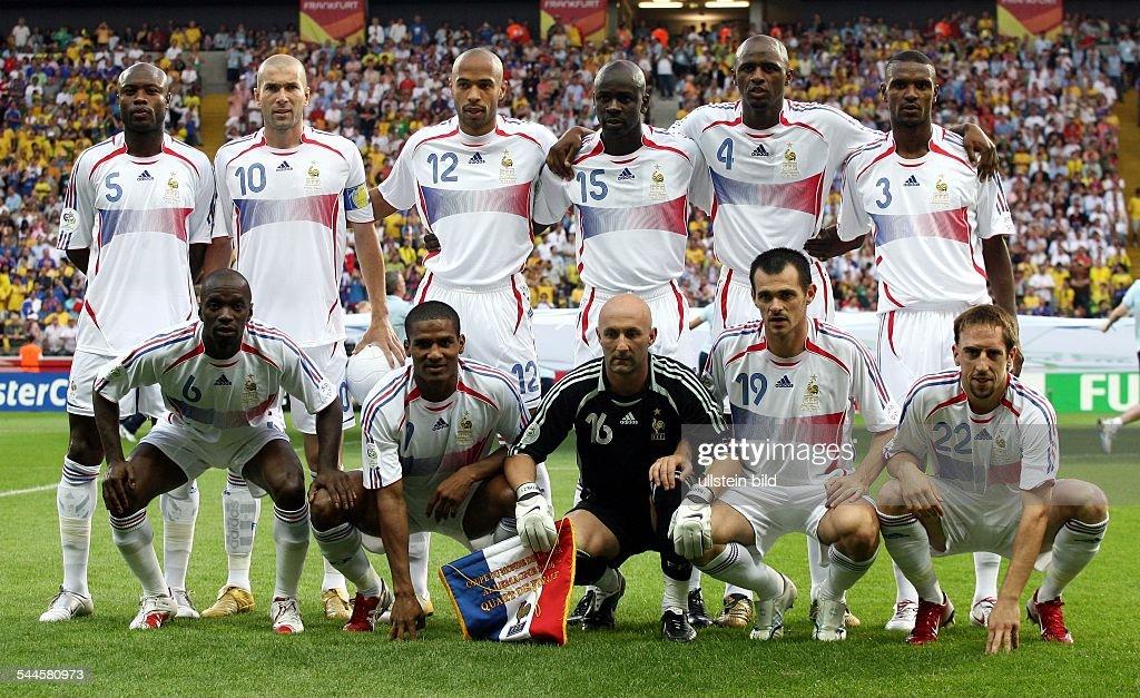 Nationalmannschaft Frankreich Spieler