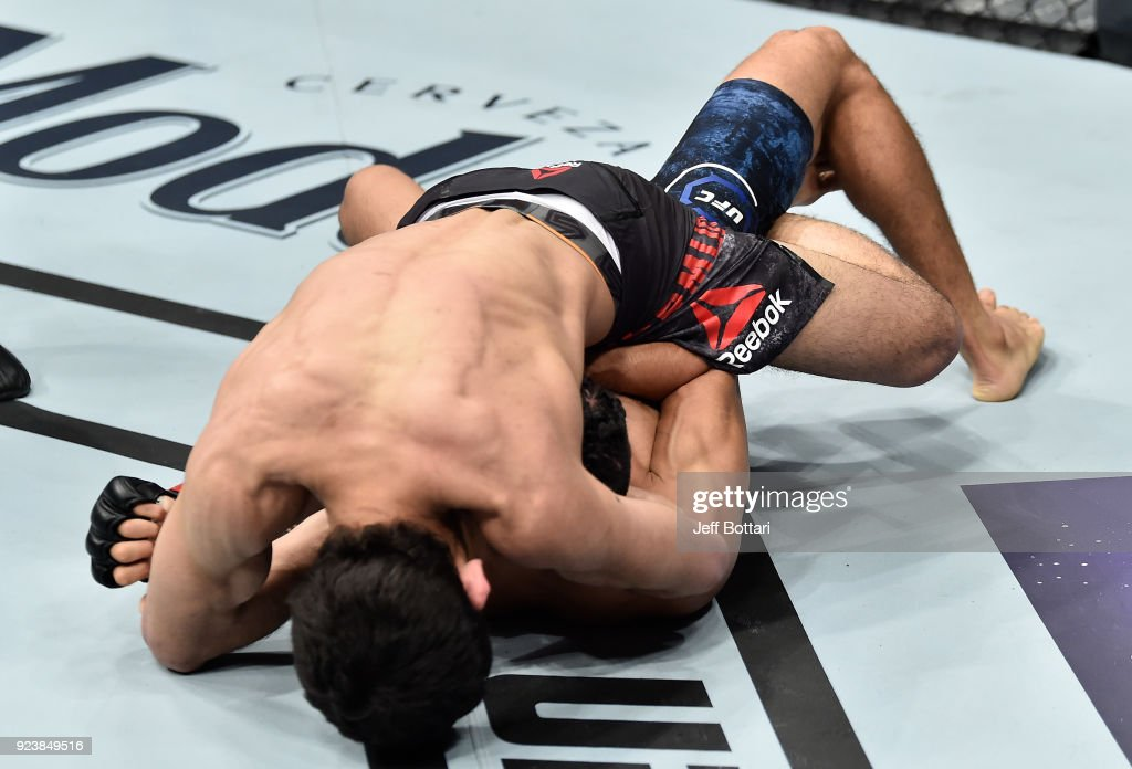 UFC Fight Night: Morales v Bermudez : News Photo