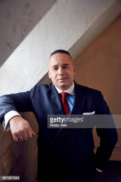 Manny Gomez from the film 'Crime and Punishment' poses for a portrait in the YouTube x Getty Images Portrait Studio at 2018 Sundance Film Festival on...