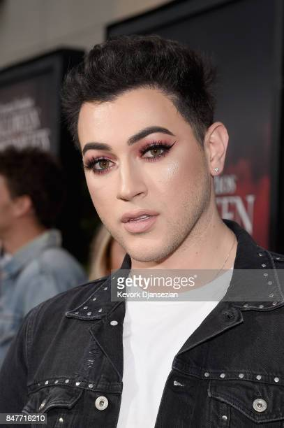 Manny Gutierrez attends Halloween Horror Nights Opening Night Red Carpet at Universal Studios Hollywood on September 15 2017 in Universal City...