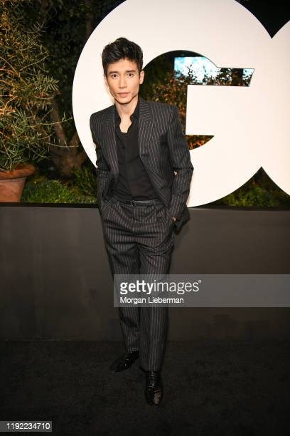 Manny Jacinto arrives at the 2019 GQ Men Of The Year event at The West Hollywood Edition on December 05, 2019 in West Hollywood, California.