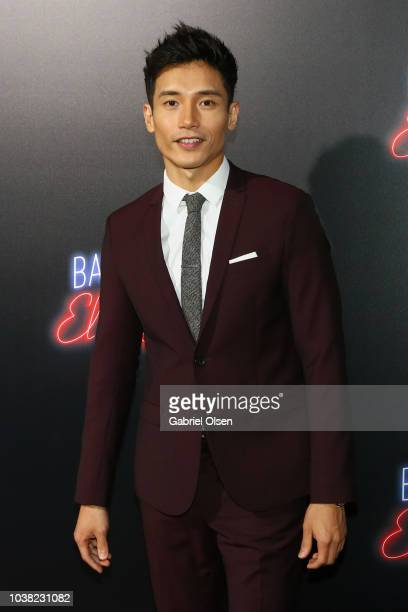 Manny Jacinto arrives to the premiere of 20th Century FOX's Bad Times At The El Royale at TCL Chinese Theatre on September 22 2018 in Hollywood...