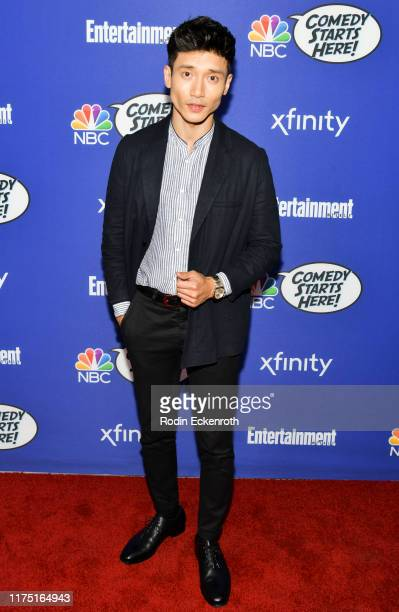 Manny Jacinto attends NBC's Comedy Starts Here at NeueHouse Hollywood on September 16 2019 in Los Angeles California