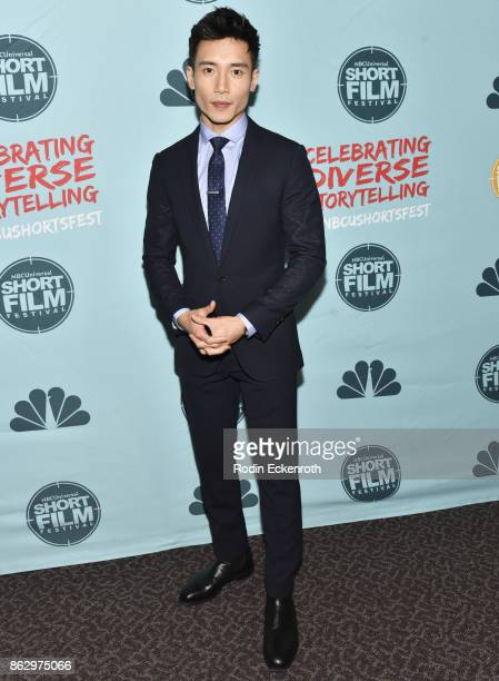 Manny Jacinto attends the 12th Annual NBCUniversal Short Film Festival Finale Screening at Directors Guild Of America on October 18 2017 in Los...