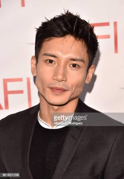 Manny Jacinto attends the 18th Annual AFI Awards at Four Seasons Hotel Los Angeles at Beverly Hills on January 5 2018 in Los Angeles California
