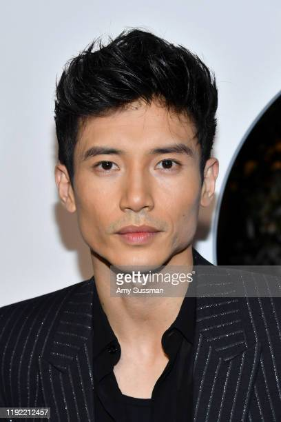 Manny Jacinto attends the 2019 GQ Men of the Year at The West Hollywood Edition on December 05 2019 in West Hollywood California