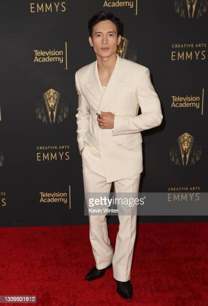 Manny Jacinto attends the 2021 Creative Arts Emmys at Microsoft Theater on September 12, 2021 in Los Angeles, California.