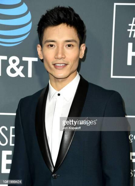 Manny Jacinto attends the 24th annual Critics' Choice Awards at Barker Hangar on January 13 2019 in Santa Monica California