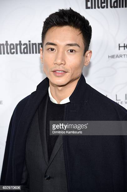 Manny Jacinto attends the Entertainment Weekly Celebration of SAG Award Nominees sponsored by Maybelline New York at Chateau Marmont on January 28...