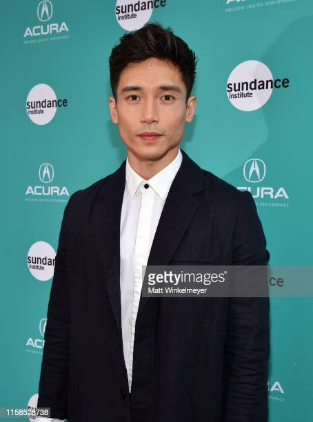 Manny Jacinto attends The Farewell LA premiere presented by Sundance Institute and hosted by Acura at The Theatre at Ace Hotel on June 26 2019 in Los...
