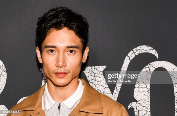 """Manny Jacinto attends the Los Angeles Premiere of Focus Features' """"Blue Bayou"""" at DGA Theater Complex on September 14, 2021 in Los Angeles,..."""